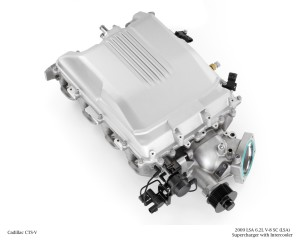 2009 LSA 6.2L V-8 SC (LSA) Supercharger with Intercooler for Cadillac CTS-V
