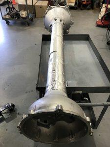 C7 Carbon Fiber Driveshaft